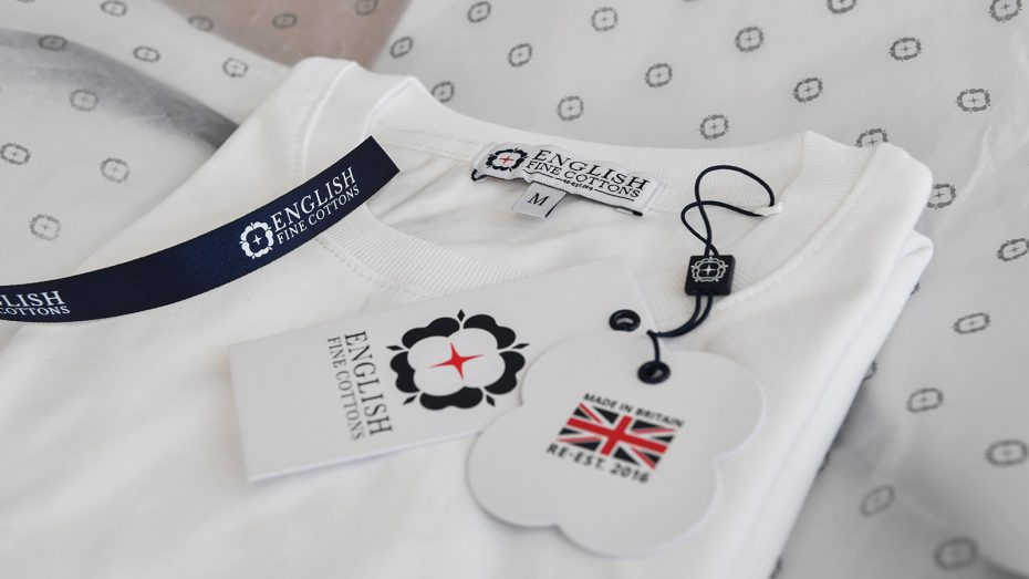 Entirely-British-made-cotton-t-shirts-made-at-Tower-Mill-by-English-Fine-Cottons-are-available-on-line-now